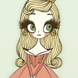принцесса ресничка